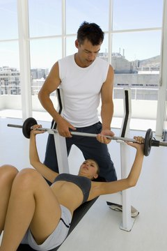 Add a spotter to assist you to maintain proper form when lifting heavy weights.