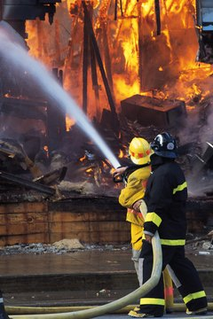 Firefighters Perform A Variety Of Duties Requiring Broad Knowledge.