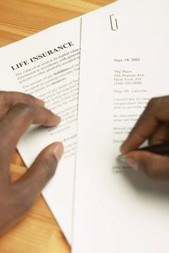 Fulfill all of the requirements before getting a life insurance policy on someone else.