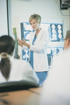 Direct entry programs expect prospective students to have completed rigorous science courses.