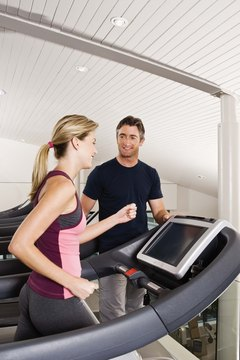 Running intervals on the treadmill gets your heart pumping and scorches calories.