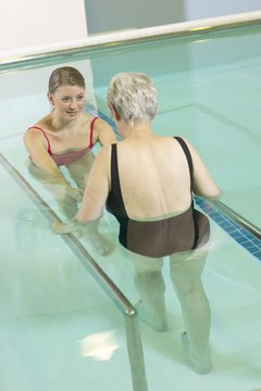 Recreational therapists use fun activities like swimming to promote health and treat injuries.