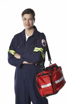 Like firefighters, EMTs can work on a full-time or volunteer basis.