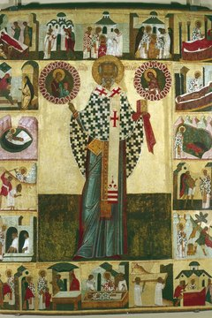 Orthodox Christians use icons to assist in prayer.