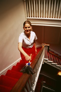 House cleaners keep your home looking good.