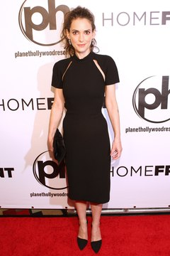 Actress Winona Ryder wears a classic sheath at a Las Vegas movie premiere in November 2013.