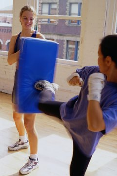 Like many martial arts, kickboxing uses different colors of belts to grade competitors.