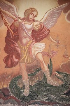 Archangel Michael is a powerful angel that can help release fears.