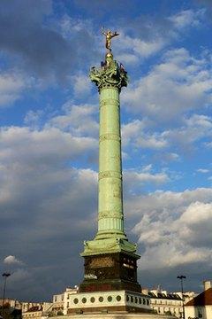 The Bastille memorial