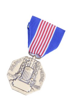 The U.S. military awards many medals for bravery and valor.