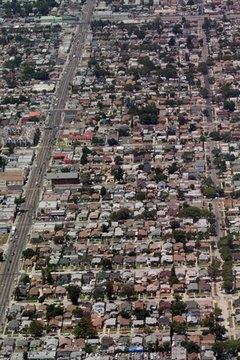 Growing cities can mean urban sprawl.