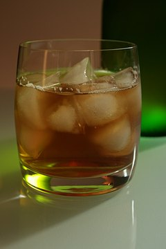 Whiskey freezes at a lower temperature than water.
