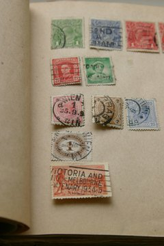 Both new and used stamps can be donated to cancer research programs.