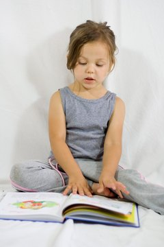 Memorizing short books also boosts a child's confidence in their ability to read.
