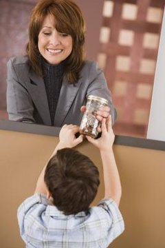 Letting kids do their own banking makes them money savvy.