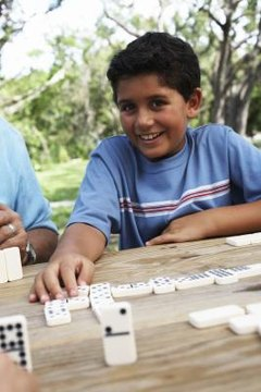 Dominoes is an offline educational game that reinforces number sense and strengthens math skills.