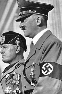 Mussolini and Hitler were fascist leaders