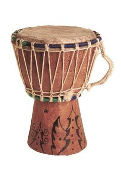 Students can make their own drums while learning about African culture.