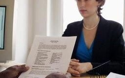 Vístete con ropa profesional y lleva un currículum y referencias.