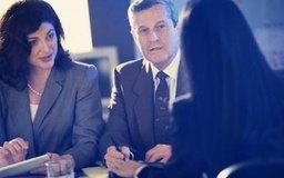 La entrevista puede ser con un panel de ejecutivos.