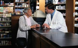 Los farmacéuticos están de pie la mayor parte del día.
