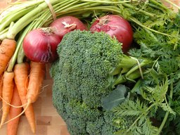 Nutrition Information on Roasted Broccoli, Carrots & Peapods