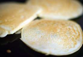 Nutrition Information for Plain Pancakes