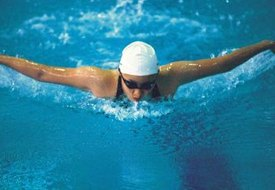 Swimming Laps and Calories