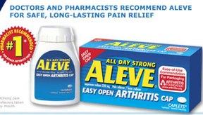 Aleve es un fármaco con un potente efecto analgésico.
