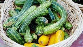 Zucchinis.
