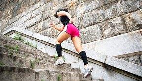 Puedes quemar más de 500 calorías si corres por las escaleras durante 30 minutos.