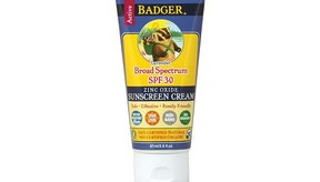 Badger Sunscreen Cream, Lavender, SPF 30.