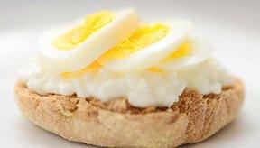 Eggwich con queso.