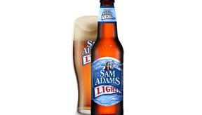 Sam Adams Light Lager.