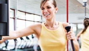 LIVESTRONG.com; los usuarios de MyPlate reportan que usan más la máquina elíptica que cualquier otra máquina para hacer ejercicios.