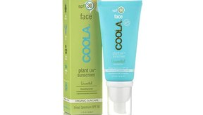 COOLA Suncare Plant UV Face Moisturizer Sunscreen, Unscented, SPF 30.