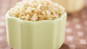 Trata de elegir siempre el arroz integral.