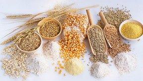 Varios tipos de granos.