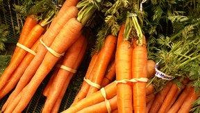 Las zanahorias son ricas en vitamina A.
