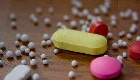 La pastilla amarilla es el complejo de vitamina B.