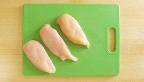 Las pechugas de pollo: bajas en grasa, altas en proteínas.