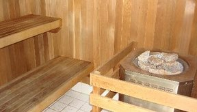 Tiempo de preparación del sauna.