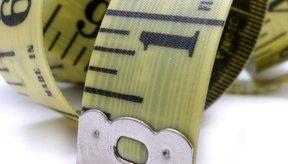 Una cinta métrica te puede ayudar a saber si estás perdiendo grasa .