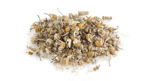 La manzanilla se utiliza a menudo como un té medicinal.