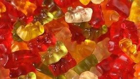 Los ositos de goma tienen mucha azúcar, pero no mucho más.