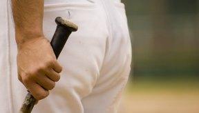 El alquitrán de pino ayuda al agarre en un bate de baseball.