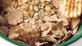 La celulosa es abundante en los cereales integrales.