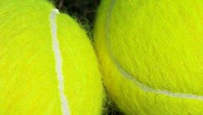 Pelotas de tenis.