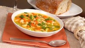 Disfruta de la sopa las veces que quieras en esta dieta.