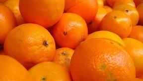 Las naranjas son fuente de vitamina C.
